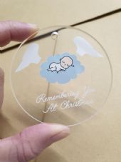 Remembering You At  Christmas Bauble - Christmas Tree Decoration